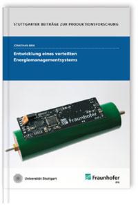 Buch: Entwicklung eines verteilten Energiemanagementsystems