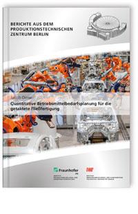 Buch: Quantitative Betriebsmittelbedarfsplanung für die getaktete Fließfertigung