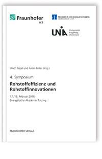 Buch: Rohstoffeffizienz und Rohstoffinnovationen