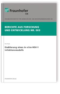 Buch: Etablierung eines in vitro HSV-1 Infektionsmodells