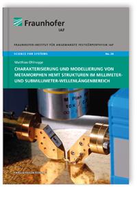 Buch: Charakterisierung und Modellierung von metamorphen HEMT Strukturen im Millimeter- und Submillimeter-Wellenlängenbereich