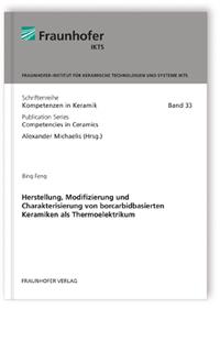 Buch: Herstellung, Modifizierung und Charakterisierung von borcarbidbasierten Keramiken als Thermoelektrikum