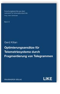 Buch: Optimierungsansätze für Telemetriesysteme durch Fragmentierung von Telegrammen