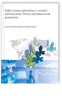 Buch: Public-private partnerships in research and innovation: Trends and international perspectives
