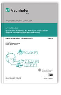 Buch: Quantitative Darstellung der Wirkungen landnutzender Prozesse auf die Biodiversität in Ökobilanzen