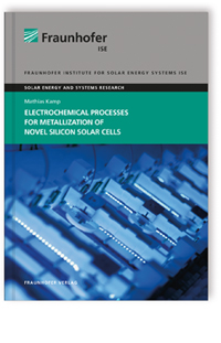 Buch: Electrochemical Processes for Metallization of Novel Silicon Solar Cells