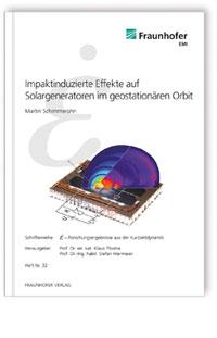 Buch: Impaktinduzierte Effekte auf Solargeneratoren im geostationären Orbit