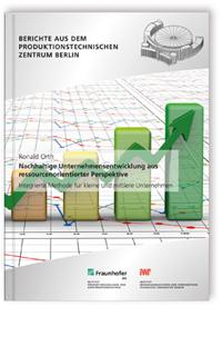 Buch: Nachhaltige Unternehmensentwicklung aus ressourcenorientierter Perspektive