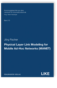 Buch: Physical Layer Link Modeling for Mobile Ad-Hoc Networks (MANET)