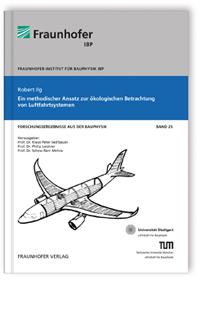Buch: Ein methodischer Ansatz zur ökologischen Betrachtung von Luftfahrtsystemen
