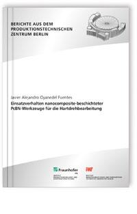 Buch: Einsatzverhalten nanocomposite-beschichteter PcBN-Werkzeuge für die Hartdrehbearbeitung
