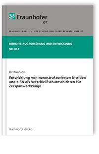 Buch: Entwicklung von nanostrukturierten Nitriden und c-BN  als Verschleißschutzschichten für Zerspanwerkzeuge
