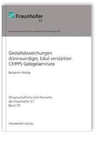Buch: Gestaltabweichungen dünnwandiger, lokal verstärkter CF/PPS Gelegelaminate