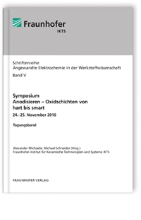 Buch: Symposium Anodisieren - Oxidschichten von hart bis smart