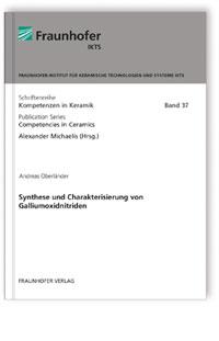 Buch: Synthese und Charakterisierung von Galliumoxidnitriden