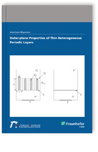 Outer-plane Properties of Thin Heterogeneous Periodic Layers