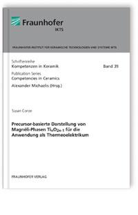 Buch: Precursor-basierte Darstellung von Magnéli-Phasen TinO2n-1 für die Anwendung als Thermeoelektrikum