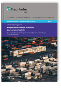 Buch: Kooperationen in der maritimen Leercontainerlogistik