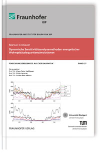Buch: Dynamische Sensitivitätsanalysemethoden energetischer Wohngebäudequartierssimulationen