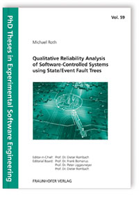 Buch: Qualitative Reliability Analysis of Software-Controlled Systems using State/Event Fault Trees