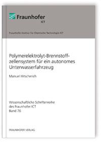Buch: Polymerelektrolyt-Brennstoffzellensystem für ein autonomes Unterwasserfahrzeug