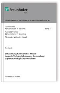 Buch: Entwicklung funktioneller Metall-Keramik-Verbundfolien unter Anwendung papiertechnologischer Verfahren