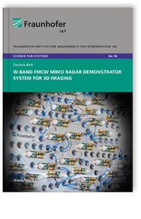 Buch: W-Band FMCW MIMO radar demonstrator system for 3D imaging
