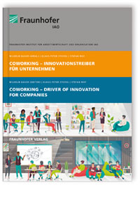 Buch: Coworking - Innovationstreiber für Unternehmen. Coworking - Driver of Innovation for Companies