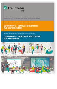 Buch: Coworking - Innovationstreiber für Unternehmen. Coworking - Driver of Innovation for Companies