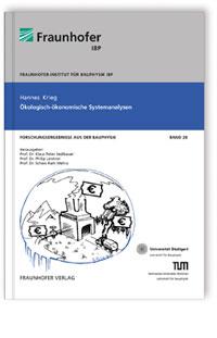 Buch: Ökologisch-ökonomische Systemanalyse