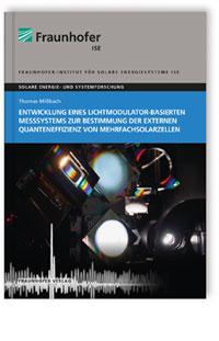 Buch: Entwicklung eines Lichtmodulator-basierten Messsystems zur Bestimmung der externen Quanteneffizienz von Mehrfachsolarzellen