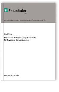 Buch: Dimensional stabile Spiegelsubstrate für kryogene Anwendungen