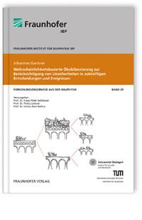 Buch: Wahrscheinlichkeitsbasierte Ökobilanzierung zur Berücksichtigung von Unsicherheiten in zukünftigen Entscheidungen und Ereignissen