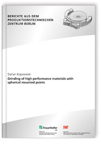 Buch: Grinding of high performance materials with spherical mounted points.