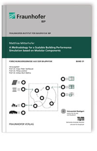 Buch: A Methodology for a Scalable Building Performance Simulation based on Modular Components
