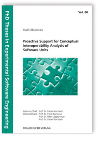 Buch: Proactive Support for Conceptual Interoperability Analysis of Software Units