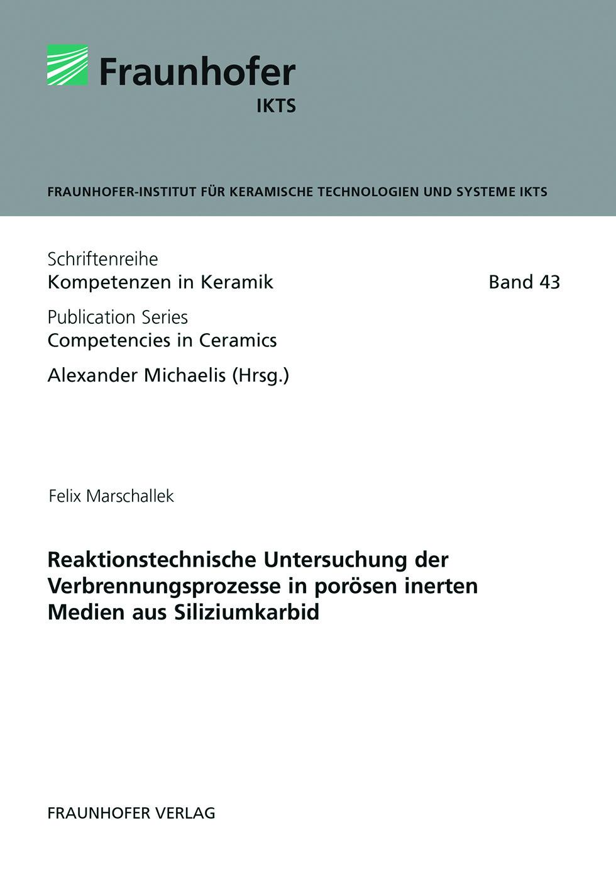 Buch: Reaktionstechnische Untersuchung der Verbrennungsprozesse in porösen inerten Medien aus Siliziumkarbid
