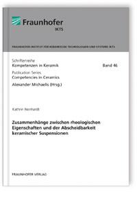 Buch: Zusammenhänge zwischen rheologischen Eigenschaften und der Abscheidbarkeit keramischer Suspensionen
