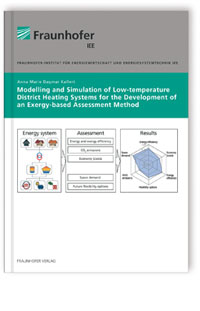 Buch: Modelling and simulation of low-temperature district heating systems for the development of an exergy-based assessment method