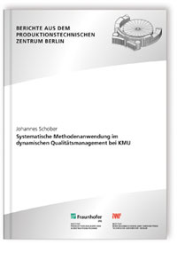 Buch: Systematische Methodenanwendung im dynamischen Qualitätsmanagement bei KMU