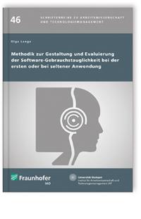 Buch: Methodik zur Gestaltung und Evaluierung der Software-Gebrauchstauglichkeit bei der ersten oder bei seltener Anwendung