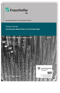 Buch: Time domain based study on flue organ pipes
