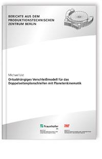 Buch: Ortsabhängiges Verschleißmodell für das Doppelseitenplanschleifen mit Planetenkinematik