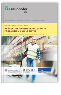 Buch: Präventive Arbeitsgestaltung in Produktion und Logistik