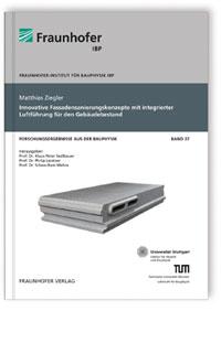 Buch: Innovative Fassadensanierungskonzepte mit integrierter Luftführung für den Gebäudebestand