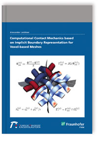 Buch: Computational Contact Mechanics based on Implicit Boundary Representation for Voxel-based Meshes