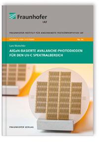 Buch: AlGaN-basierte Avalanche-Photodioden für den UV-C Spektralspektralbereich