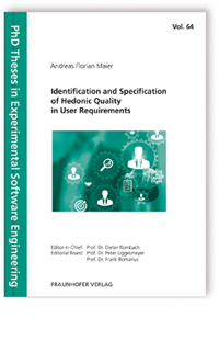 Buch: Identification and Specification of Hedonic Quality in User Requirements