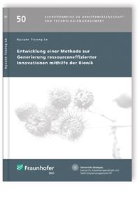 Buch: Entwicklung einer Methode zur Generierung ressourceneffizienter Innovationen mithilfe der Bionik