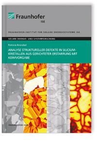 Buch: Analyse struktureller Defekte in Siliciumkristallen aus gerichteter Erstarrung mit Keimvorgabe